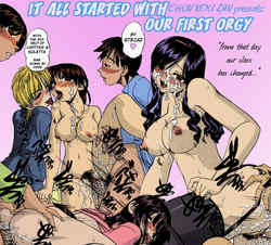 It all started with our first orgy